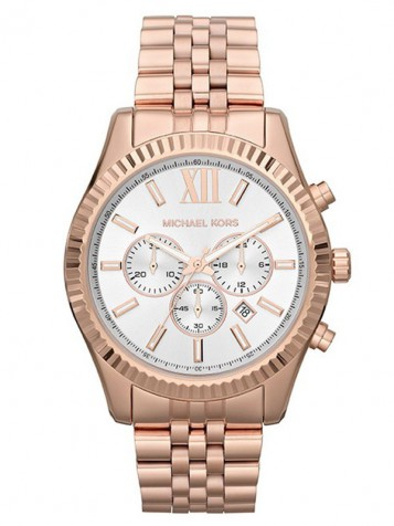 MICHAEL KORS Lexington Rosé Chronograph MK8313 – Bild 1