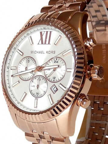 MICHAEL KORS Lexington Rosé Chronograph MK8313 – Bild 2